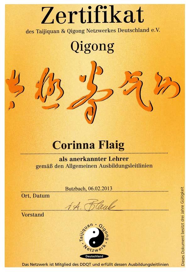 Zertifikat_Qigong _Lehrer