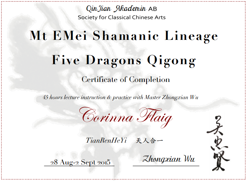 5 Dragons Qigong