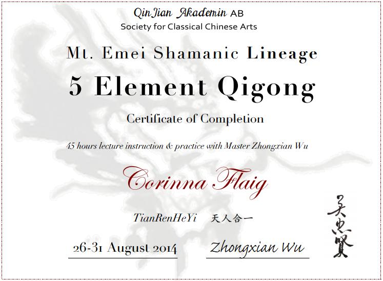 5 Elemente Qigong