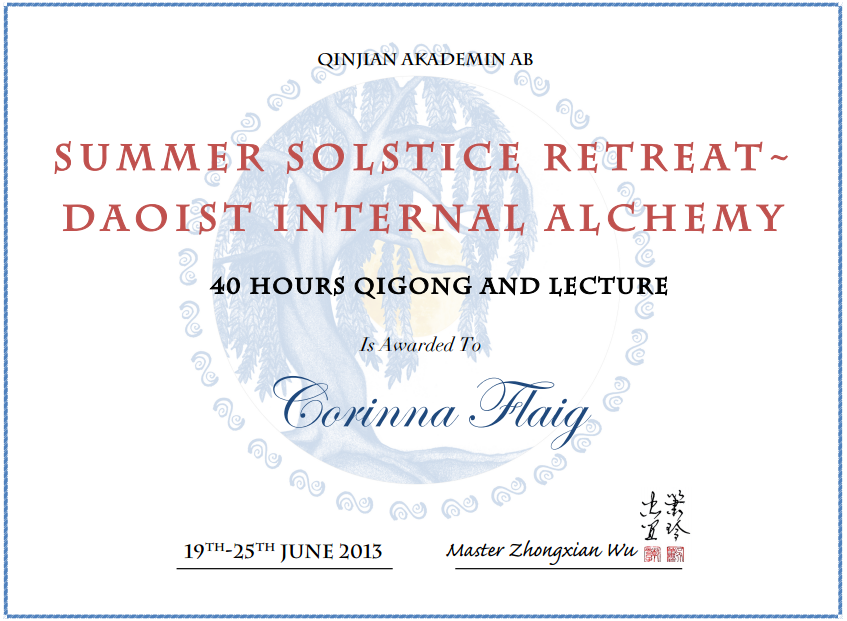 Summer Solstice - Daoist Internal Alchemy